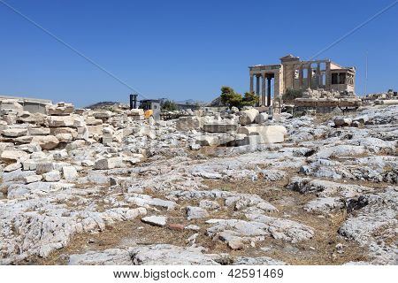 View Of Erechtheum