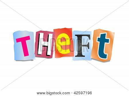 Theft Concept.