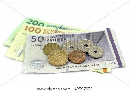 Danish Kroner, Coins And Banknotes