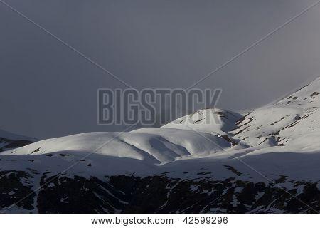 The Portalet Mountains, Huesca, Aragon, Spain