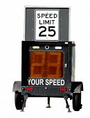 Police Speed Limit Monitor