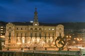 pic of basque country  - City hall of Bilbao Bizkaia Basque Country Spain - JPG