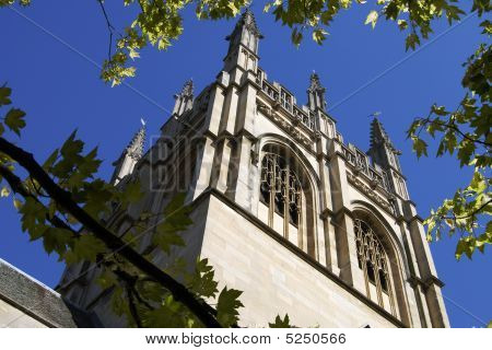 Merton College Chapel. Oxford. England
