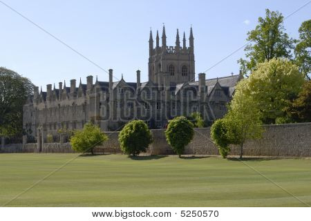 Merton College. Oxford. England
