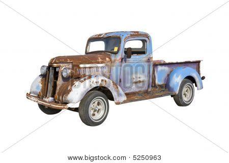 Rusty Blue Truck