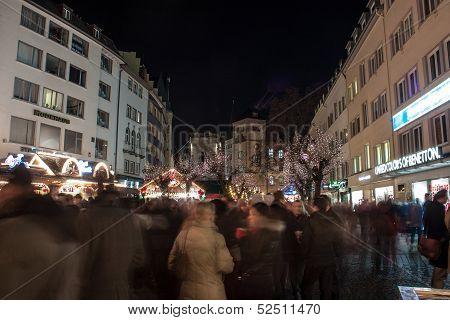 Christmas market in Bonn
