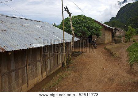 Village in Laos