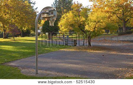 Public Park Portland Oregon.