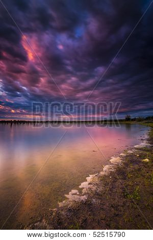 Benbrook Lake Sunrise