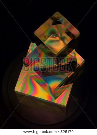 Stacked Polarized Cubes