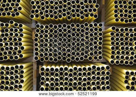 Layer of Pipes full frame