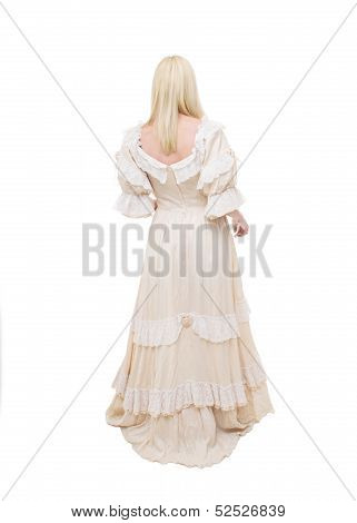 Beautiful Victorian Woman From The Back