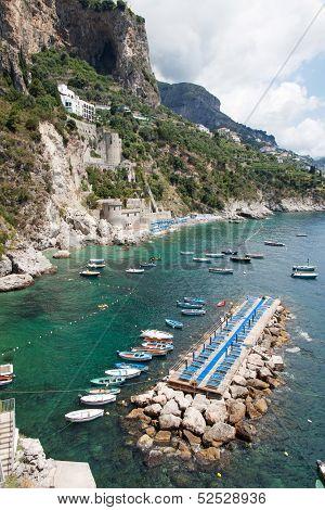 Tonnarella Beach, Amalfi Coast, Italy