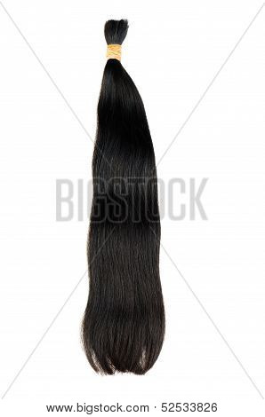 Dark hair extensions