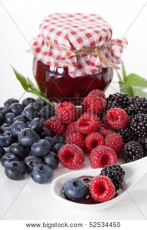 Tasty Forest Fruits Homemade Jam