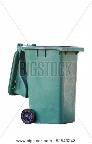 Green Garbage Bins