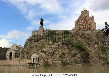 Ancient Metekhi Church