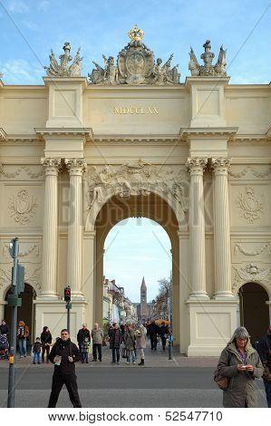 Brandenburg Gate In Potsdam
