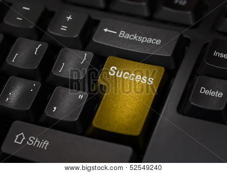 Golden Success Computer Key
