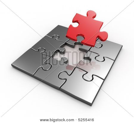 Completing Last Master Piece Red Puzzle