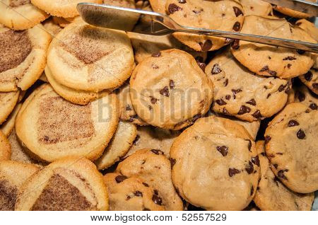 Chocolate Chip Cookies And Snicker Doodle Cookies
