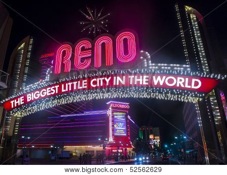 Biggest Little City In The World Sign