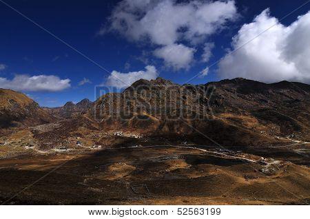Kupup Valley Under Cloudy Sky, Sikkim