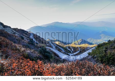 Old Silk Route, Zuluk (dzuluk), Sikkim