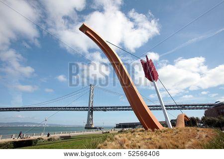 Cupid arrow, Embarcadero of San Francisco
