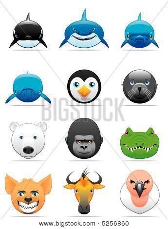 Wild Animals Icons