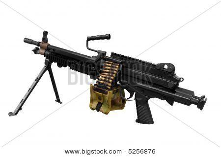 Machinegun Isolated