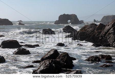 Pacific Coast, Sonoma County, California
