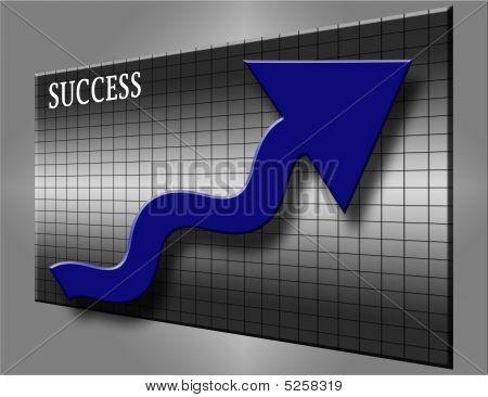 Blue Arrow Success