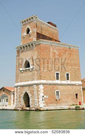 Arsenale tower, Venice