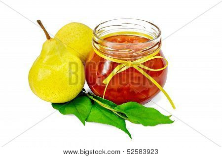Jam Pear With Pears