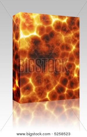 Fiery Explosion Box Package