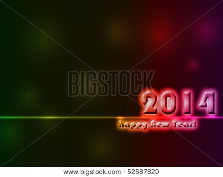 Abstract Graphic Design New Year Related