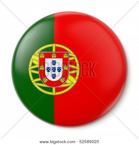 Portugal Pin-back