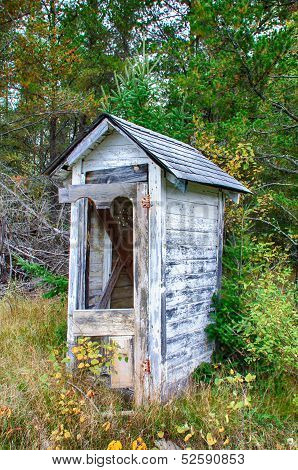 Dilapidated Outhouse
