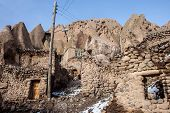 foto of tabriz  - Unusual famous village Kandovan in northern Iran - JPG