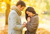 stock photo of marriage proposal  - holidays - JPG