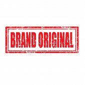Brand Original-stamp poster