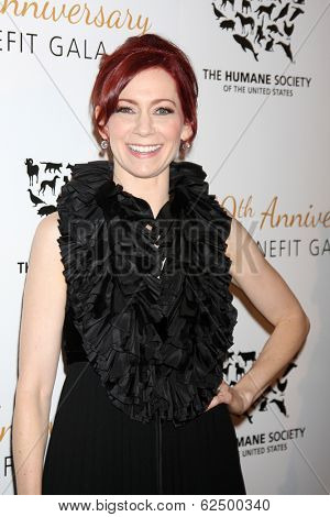 LOS ANGELES - MAR 29:  Carrie Preston at the Humane Society Of The United States 60th Anniversary Gala at Beverly Hilton Hotel on March 29, 2014 in Beverly Hills, CA