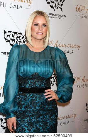 LOS ANGELES - MAR 29:  Carrie Keagan at the Humane Society Of The United States 60th Anniversary Gala at Beverly Hilton Hotel on March 29, 2014 in Beverly Hills, CA