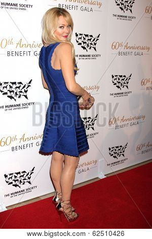 LOS ANGELES - MAR 29:  Charlotte Ross at the Humane Society Of The United States 60th Anniversary Gala at Beverly Hilton Hotel on March 29, 2014 in Beverly Hills, CA
