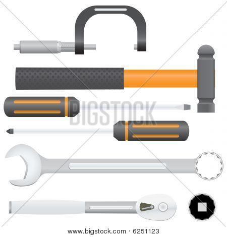 Auto Tools Vector