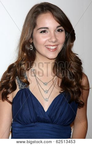 LOS ANGELES - MAR 29:  Haley Pullos at the Humane Society Of The United States 60th Anniversary Gala at Beverly Hilton Hotel on March 29, 2014 in Beverly Hills, CA