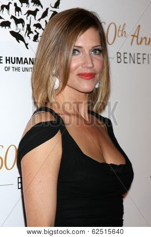 LOS ANGELES - MAR 29:  Tricia Helfer at the Humane Society Of The United States 60th Anniversary Gala at Beverly Hilton Hotel on March 29, 2014 in Beverly Hills, CA