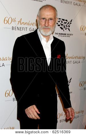 LOS ANGELES - MAR 29:  James Cromwell at the Humane Society Of The United States 60th Anniversary Gala at Beverly Hilton Hotel on March 29, 2014 in Beverly Hills, CA