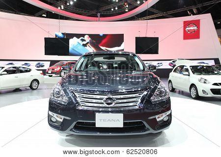 Nonthaburi - March 25: Nissan Teana Car On Display At The 35Th Bangkok International Motor Show On M